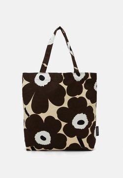 Marimekko - NOTKO PIENI UNIKKO BAG - Shopping bag - beige/brown/off white
