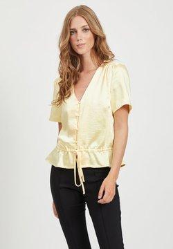 Vila - Blusa - mellow yellow