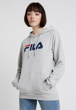 Fila - PURE HOODY - Sweat à capuche - light grey melange