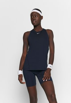 Nike Performance - TANK ALL OVER  - Funktionsshirt - obsidian/white