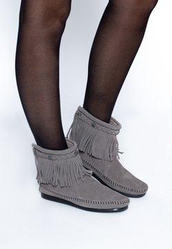 Minnetonka - HI TOP BACK ZIP ANKLE BOOT - Stiefelette - canella