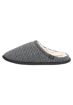 Next - HOUNDSTOOTH STAG  - Pantolette flach - grey