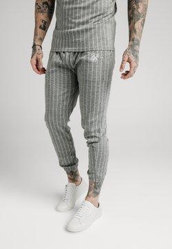 SIKSILK - Jogginghose - grey pin stripe