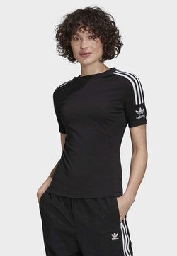 adidas Originals - TIGHT T-SHIRT - T-Shirt print - black