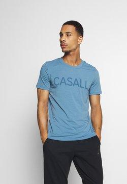 Casall - LOGO TEE - Printtipaita - inclusive blue