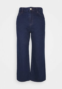 ONLY - ONLSONNY  WIDE LIFE - Flared Jeans - medium blue denim