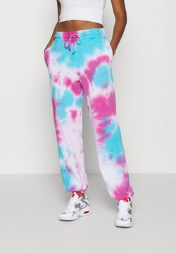 Jaded London - TIE DYE PRINT JOGGERS - Jogginghose - multi
