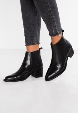 Bianco - DRESS CHELSEA - Ankle Boot - black