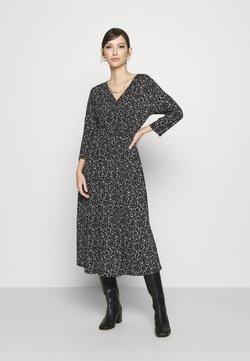 ONLY - ONLPELLA WRAP DRESS - Kjole - black