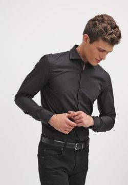 HUGO - JASON SLIM FIT - Koszula biznesowa - black