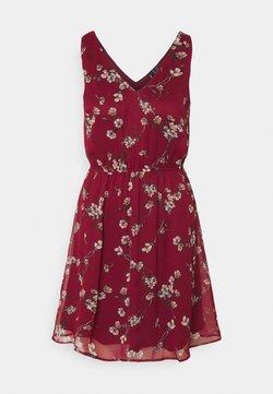 Vero Moda - VMWONDA NEW SINGLET SHORT DRESS - Vapaa-ajan mekko - tibetan red/eliza