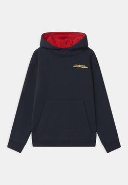 Automobili Lamborghini Kidswear - SHIELD TAPE HOODED  - Sweater - blue hera