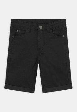 The New - Szorty jeansowe - black