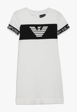 Emporio Armani - VESTITO - Freizeitkleid - bianco caldo