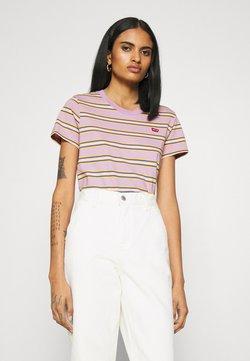 Levi's® - PERFECT TEE - T-Shirt print - borough lavender frost