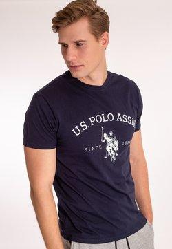 U.S. Polo Assn. - ARCHIBALD - T-shirts med print - dark sapphire