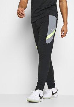 Nike Performance - DRY ACADEMY PANT  - Jogginghose - black/dark smoke grey/volt/light smoke grey