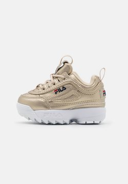 Fila - DISRUPTOR INFANTS - Sneakers - gold