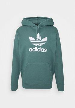 adidas Originals - TREFOIL HOODIE UNISEX - Kapuzenpullover - hazy emerald