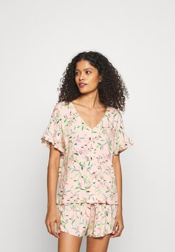 Marks & Spencer London - FLORAL SHORTIE  - Pyjama - peach mix
