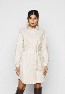 Pieces Petite - PCRENA DRESS - Robe chemise - whitecap gray