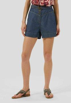 Conbipel - CHAMBRAY - Shorts di jeans - blu