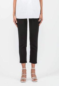 ATTESA - Pantalones deportivos - black