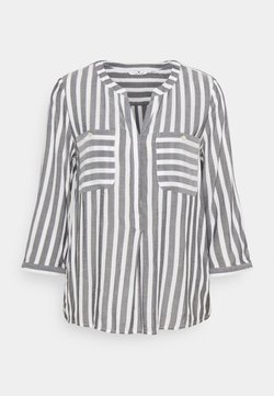 TOM TAILOR - Bluse - offwhite/navy