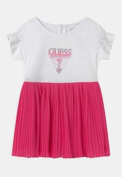 Guess - SET - Jerseykleid - true white