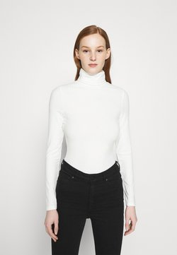 New Look - ROLL NECK - Langærmede T-shirts - off white