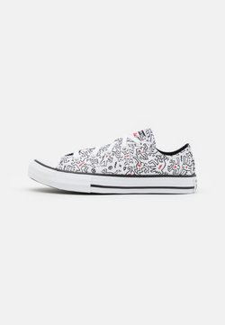 Converse - CHUCK TAYLOR ALL STAR UNISEX - Sneakers basse - white/black/red