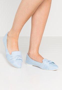 Wallis - BARCELONA - Slip-ons - baby blue