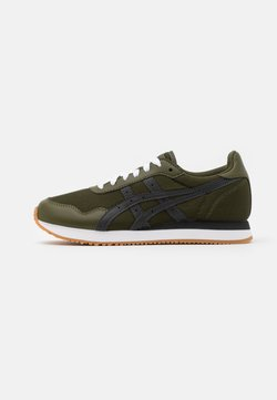 ASICS SportStyle - TIGER RUNNER UNISEX - Sneaker low - smog green/graphite grey