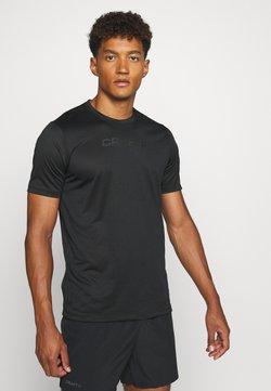 Craft - CORE ESSENCE TEE  - Camiseta estampada - black
