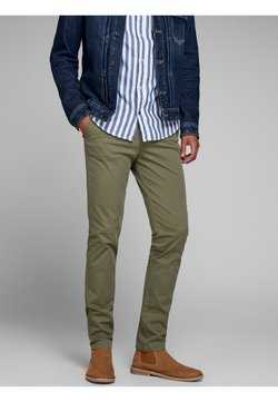 Jack & Jones - Chinos - olive night