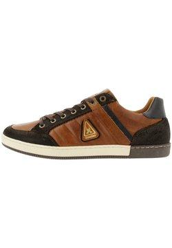 Gaastra - WILLIS TRM - Sneaker low - cognac-brown
