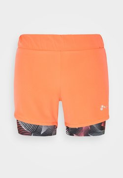 ONLY PLAY Petite - ONPJUDIE LOOSE TRAIN 2IN1 - Shorts - fiery coral/fiery coral