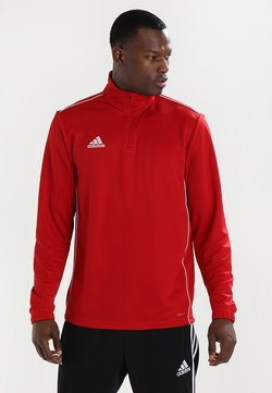 adidas Performance - CORE 18 TRAINING TOP - Funktionsshirt - powred/white