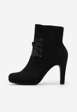 Tamaris - High Heel Stiefelette - black