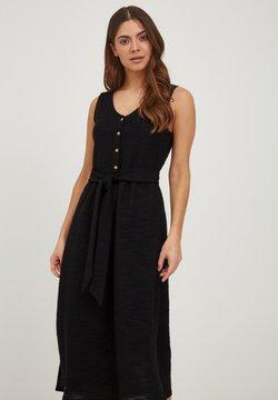 ICHI - IHALABAMA - Gebreide jurk - black