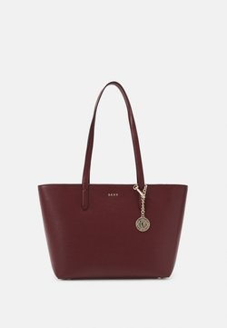 DKNY - BRYANT BOX SUTTON - Shopping Bag - aged wine