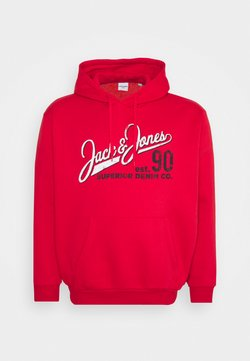 Jack & Jones - JJELOGO HOOD - Sweat à capuche - true red