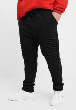 Urban Classics - PLEAT - Jogginghose - black