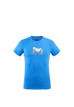 Millet - BOULDER DREAM TS SS M - T-shirt imprimé - bleu