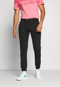 Tommy Jeans - SCANTON JOGGER DOBBY PANT - Jogginghose - black