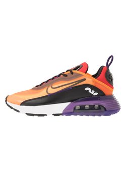 Nike Sportswear - AIR MAX 2090 - Sneakers laag - magma orange/black/eggplant/habanero red/white/red orbit