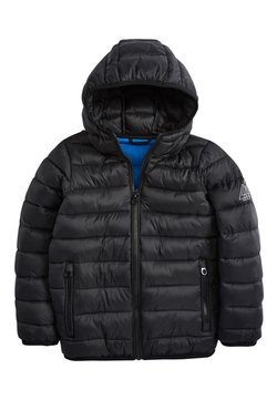 Next - BLACK SHOWER RESISTANT PADDED JACKET (3-16YRS) - Talvitakki - black