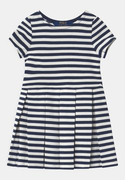 Polo Ralph Lauren - STRIPE  - Jerseykleid - patriot blue
