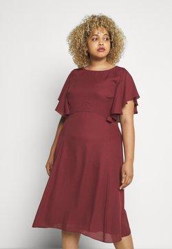 Swing Curve - Sukienka letnia - earth red