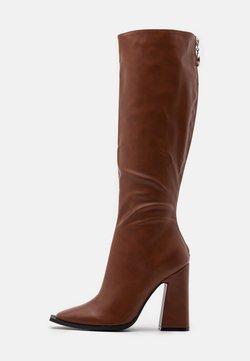RAID - PIXXEL - High heeled boots - cognac